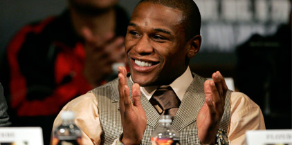¿Mayweather quiere $100 millones?