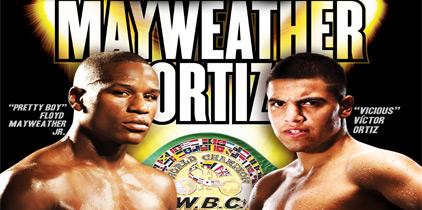 Hoy 8pm por Lo Mejor del Boxeo: Floyd Mayweather vs. Víctor Ortiz