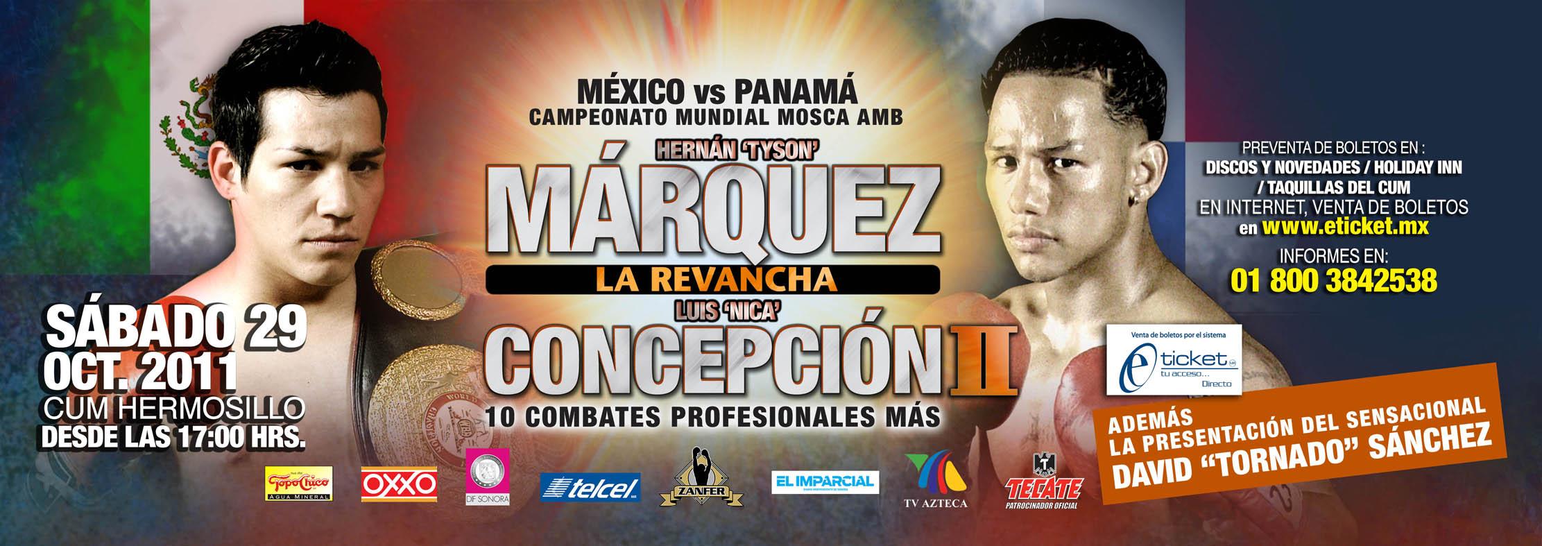 Márquez-Concepción II será «la madre de todas las guerras»