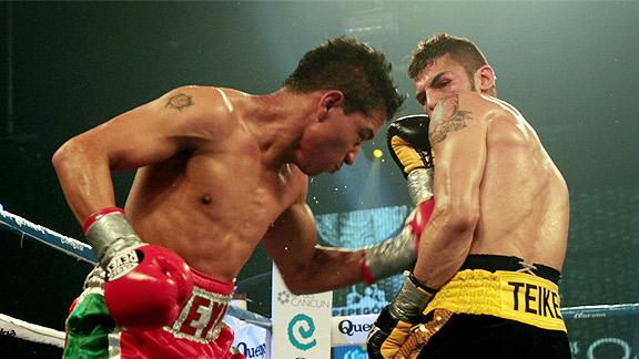 Sergio Thompson soprendió a Jorge Linares y lo acabó en dos rounds