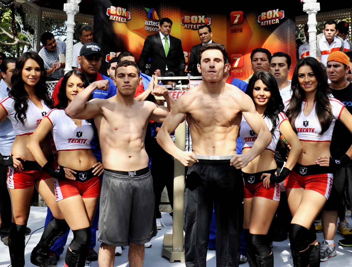 """La revancha: Jorge """"Maromerito"""" Páez Jr. vs Omar Chávez, este sábado en vivo por Lo Mejor del Boxeo"""