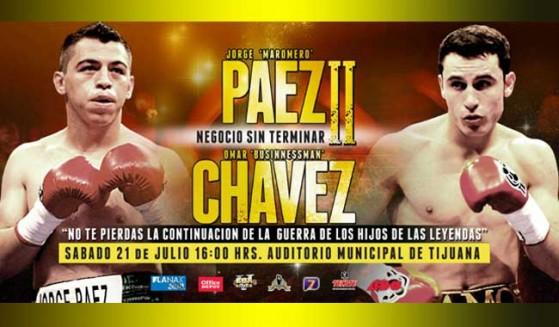 """Páez vs. Chávez 2, Enciende ánimos """"Negocios sin terminar"""""""