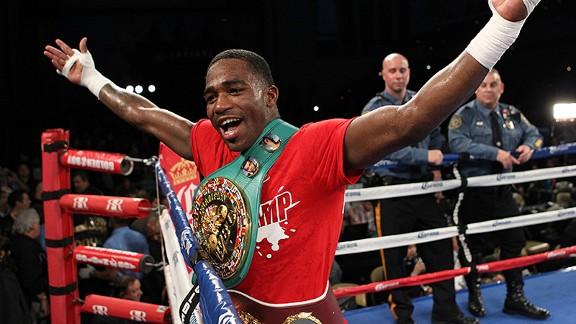 «El Futuro Mayweather», Adrien Broner, pelea esta noche por Lo Mejor del Boxeo