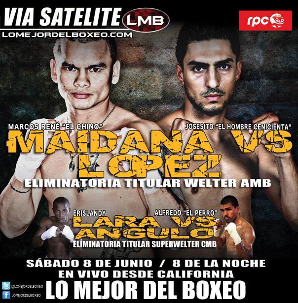 Maidana vs López: en vivo hoy por Lo Mejor del Boxeo