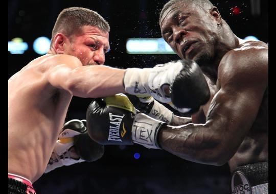 Soto Karass, Thurman y Figueroa triunfan en una noche dramática y emocionante de boxeo