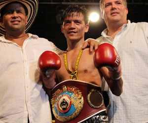 Merlito Sabillo retuvo el título mínimo OMB al noquear al colombiano Jorle Estrada