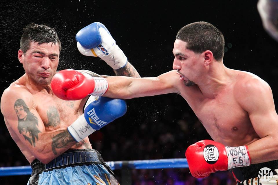 García vence por decisión unánime a Matthysse en un excelente combate