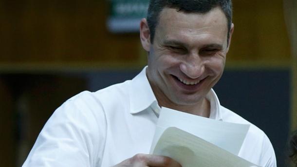 El excampeón Vitali Klitschko será el nuevo alcalde de Kiev