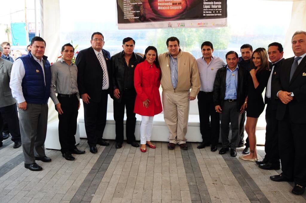 CMB presenta «Boxeando por un México Seguro»