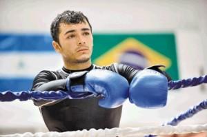 Boxeador Brian *Tiquito * Vasquez,Foto.Manuel Vega  17-05-11.