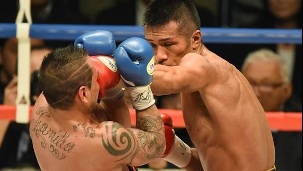 Pérez cayó por KOT ante Uchiyama y la hazaña estuvo lejos