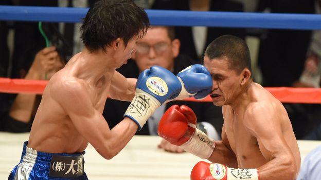Alberto Rossel perdió el título mundial de boxeo en Japón