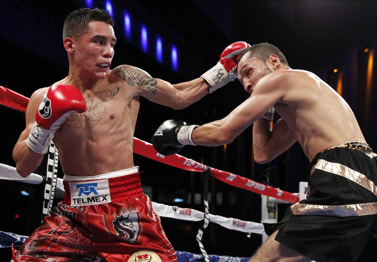 Avanza Óscar Valdez hacia su sueño de ser campeón mundial