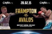 Frampton-Ávalos en Belfast