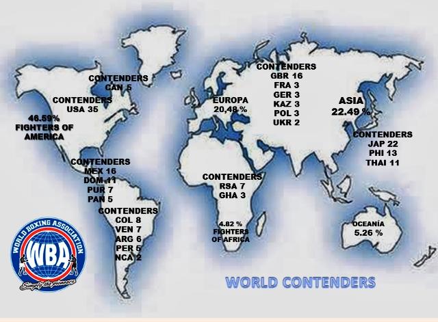 América y Asia son los continentes con mayor presencia en la AMB