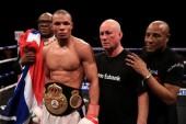 Chris Eubank Jr es el nuevo campeón interino 160 libras