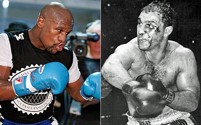 Mayweather busca superar a Rocky Marciano