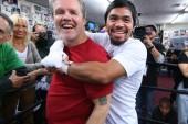 Roach confiesa que entrenar a Pacquiao lo salvó del suicidio