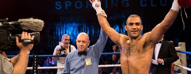 Tyson Ramírez venció a Afolabi y se consagró campeón mundial interino