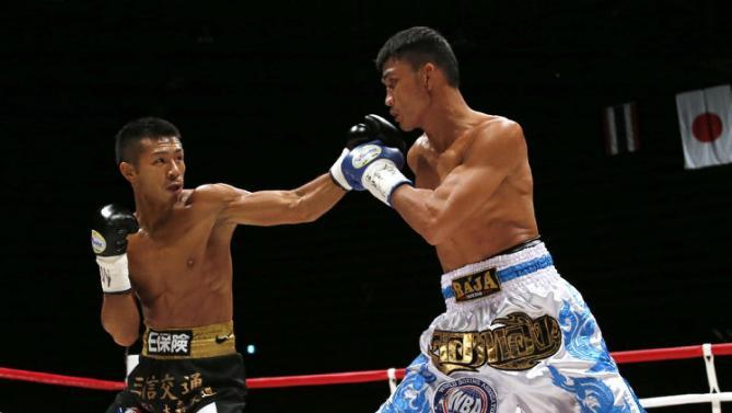Uchiyama fulminó a Chuwatana en Tokio