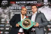 Cotto y su oponente Geale cumplieron con el pesaje previo