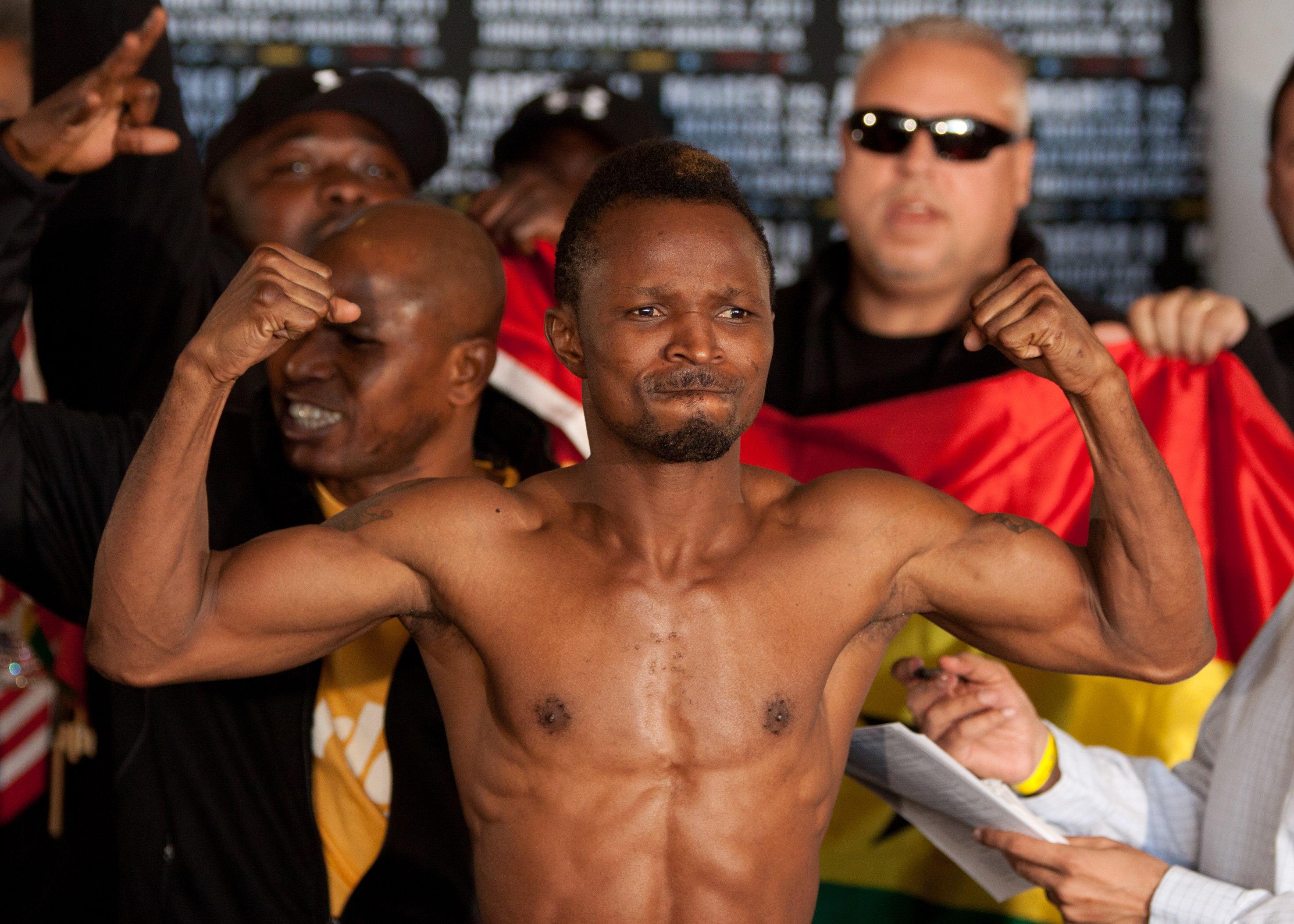 Agbeko retornó con triunfo