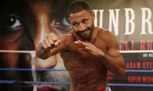 Kell Brook  wants to get back in the ring quickly after having beaten Jo Jo Dan, and could return as