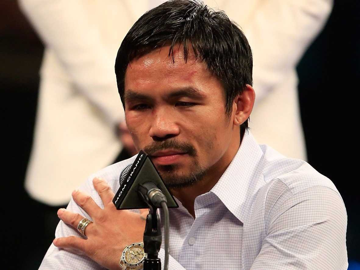 Manny Pacquiao podría retirarse en 2016