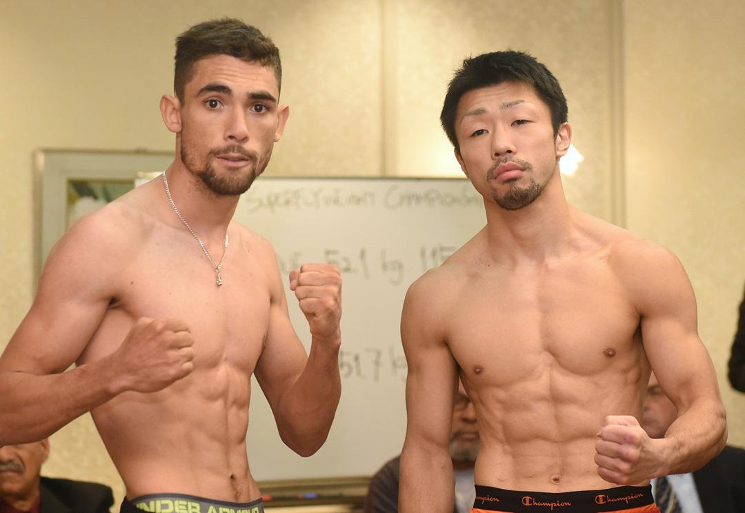Cumplen pesaje para doble campeonato mundial en Japón