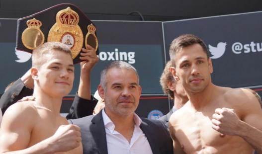 Chudinov y Sturm en peso y listos para combatir