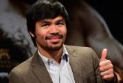 Manny Pacquiao se toma un descanso de la política para boxear