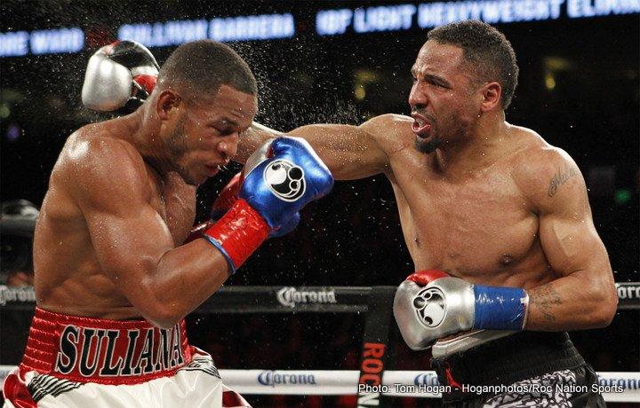 Ward lleva a la escuela al cubano Barrera con una clase de boxeo