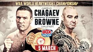 Chagaev y Browne se vieron las caras