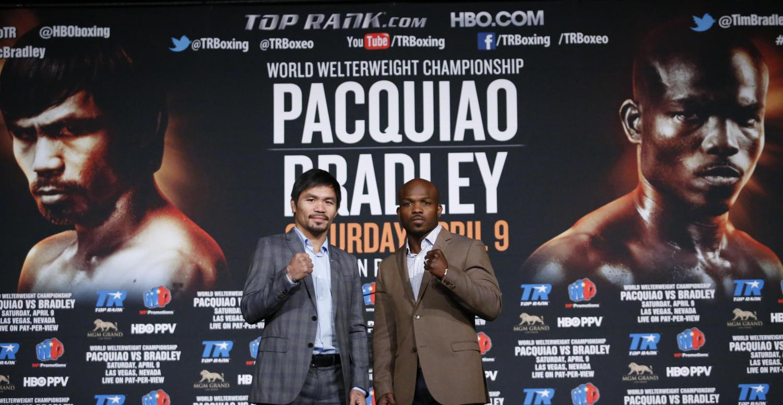 La polémica rivalidad entre Pacquiao y Bradley