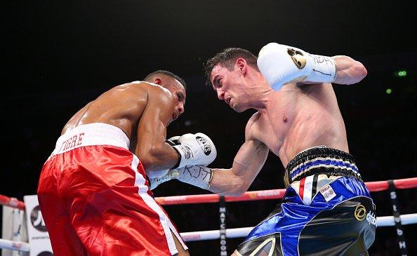 Anthony Crolla retuvo el título ligero ante el venezolano Ismael Barroso