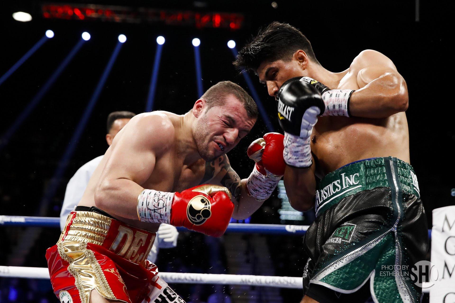 Mikey García vence por fulminante KO a Zlaticanin y se corona campeón