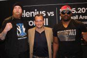 Dereck Chisora y Robert Helenius disputan título plata CMB en rvancha