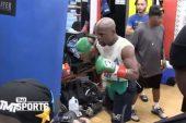 Floyd Mayweather dio un sorpresivo pronóstico para su pelea con Conor McGregor