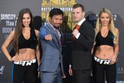 Manny Pacquiao expone título mundial ante Jeff Horn en Australia