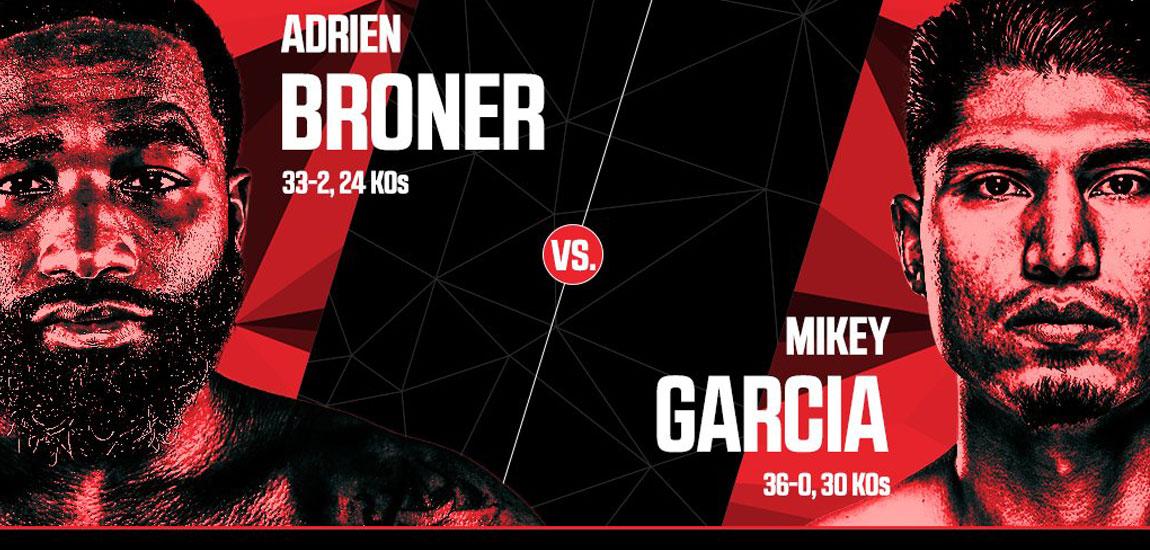 """El """"Bocón"""" Adrien Broner no será rival fácil para el invicto ex Campeón Mundial, Mikey García"""