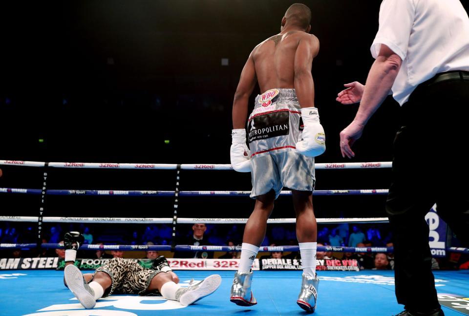 Zolani Tete consiguió el KO más rápido de la historia