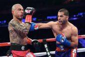 Miguel Cotto se retiró del boxeo con una derrota ante Sadam Alí