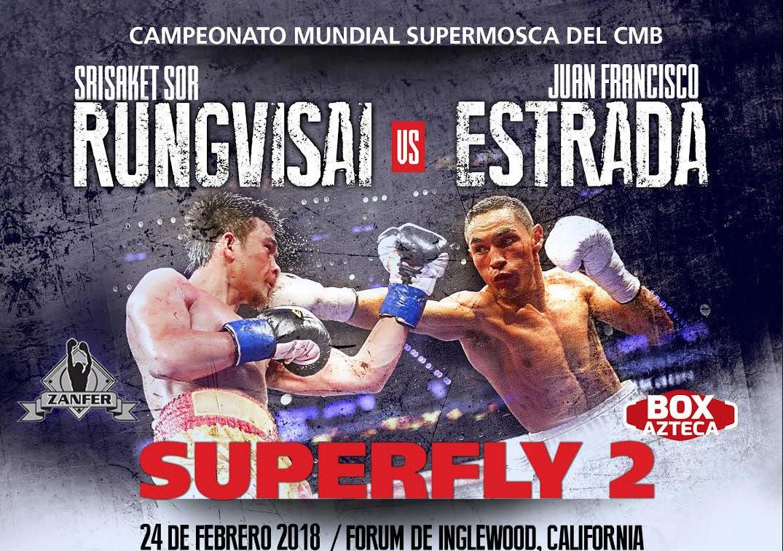 Este sábado Rungvisai vs Estrada, guerra de estilos