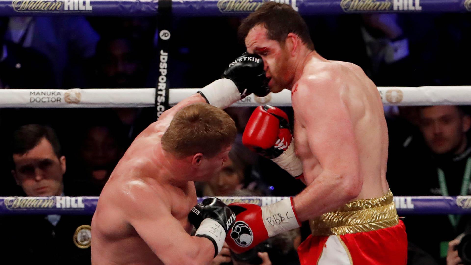 Espectacular KO de Povetkin sobre Price; otros resultados desde Gales