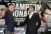 Ganador de Frampton-Donaire será rival de Óscar Valdez