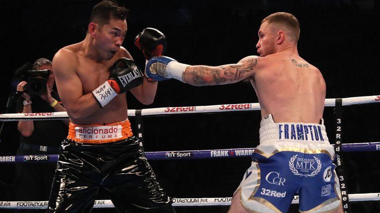 Irlandés Carl Frampton derrotó al filipino Nonito Donaire