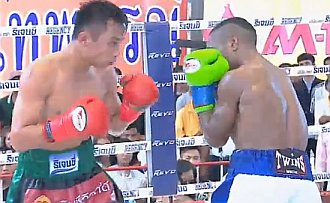 Panameño Leroy Estrada cae por KO ante Menayothin en Tailandia