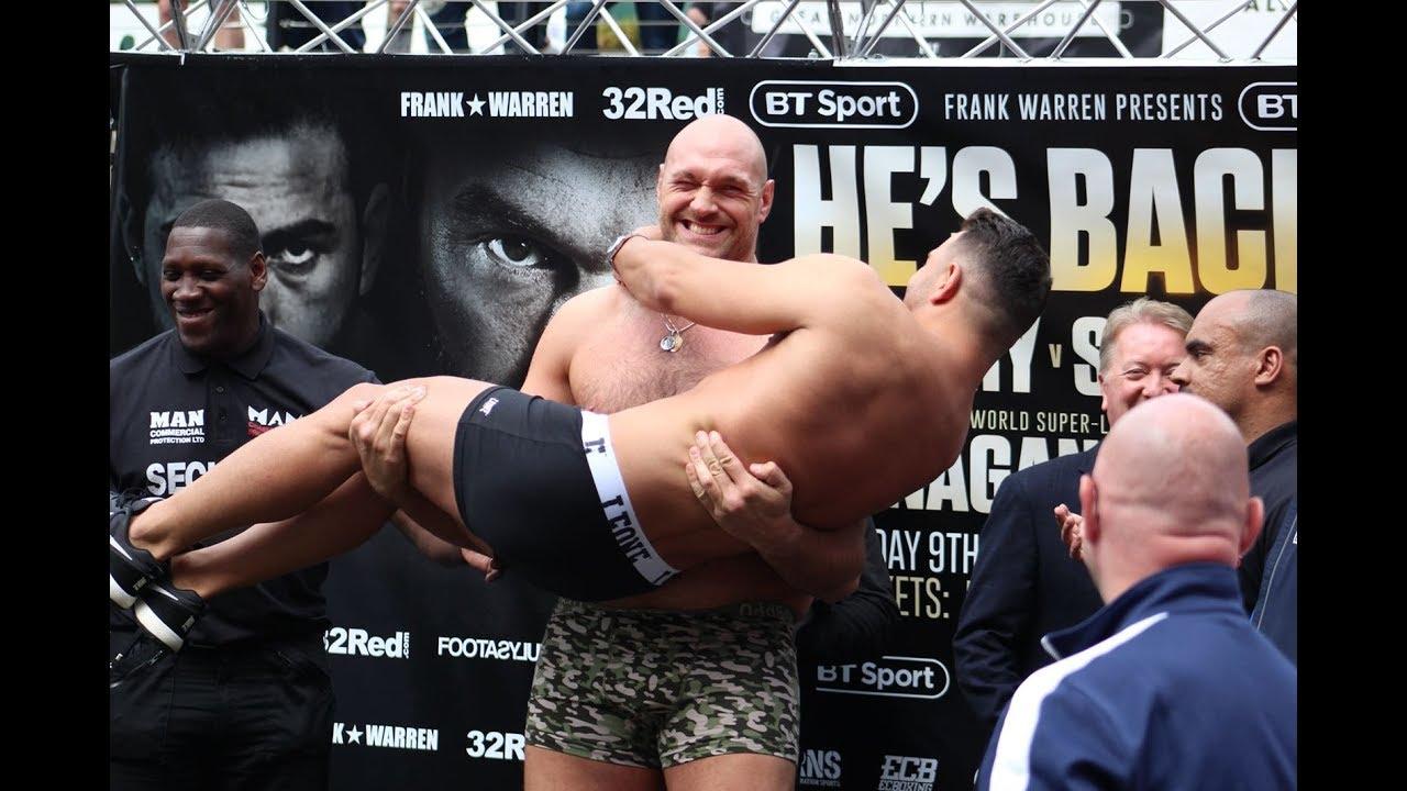 Después de perder 110 libras, Tyson Fury vuelve a reclamar su sitio