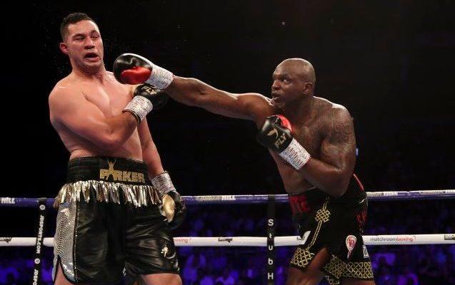 Whyte se impuso a Parker en un peleón en Reino Unido