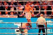 """Cristofer """"El Látigo"""" Rosales defiende con éxito su título mundial tras noquear al irlandés Paddy Barnes"""